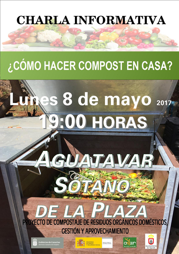 Cancelado c mo hacer compost en casa 8 de mayo en aguatavar la palma org nica - Como hacer compost en casa ...