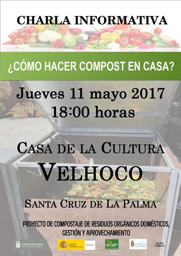 Charlas sobre compostaje dom stico en velhoco 11 de mayo la palma org nica - Como hacer compost en casa ...